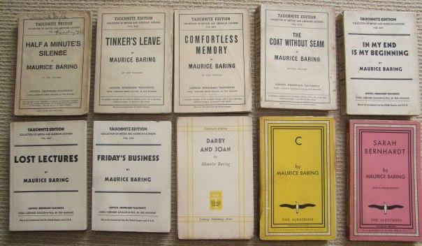 Maurice Baring books