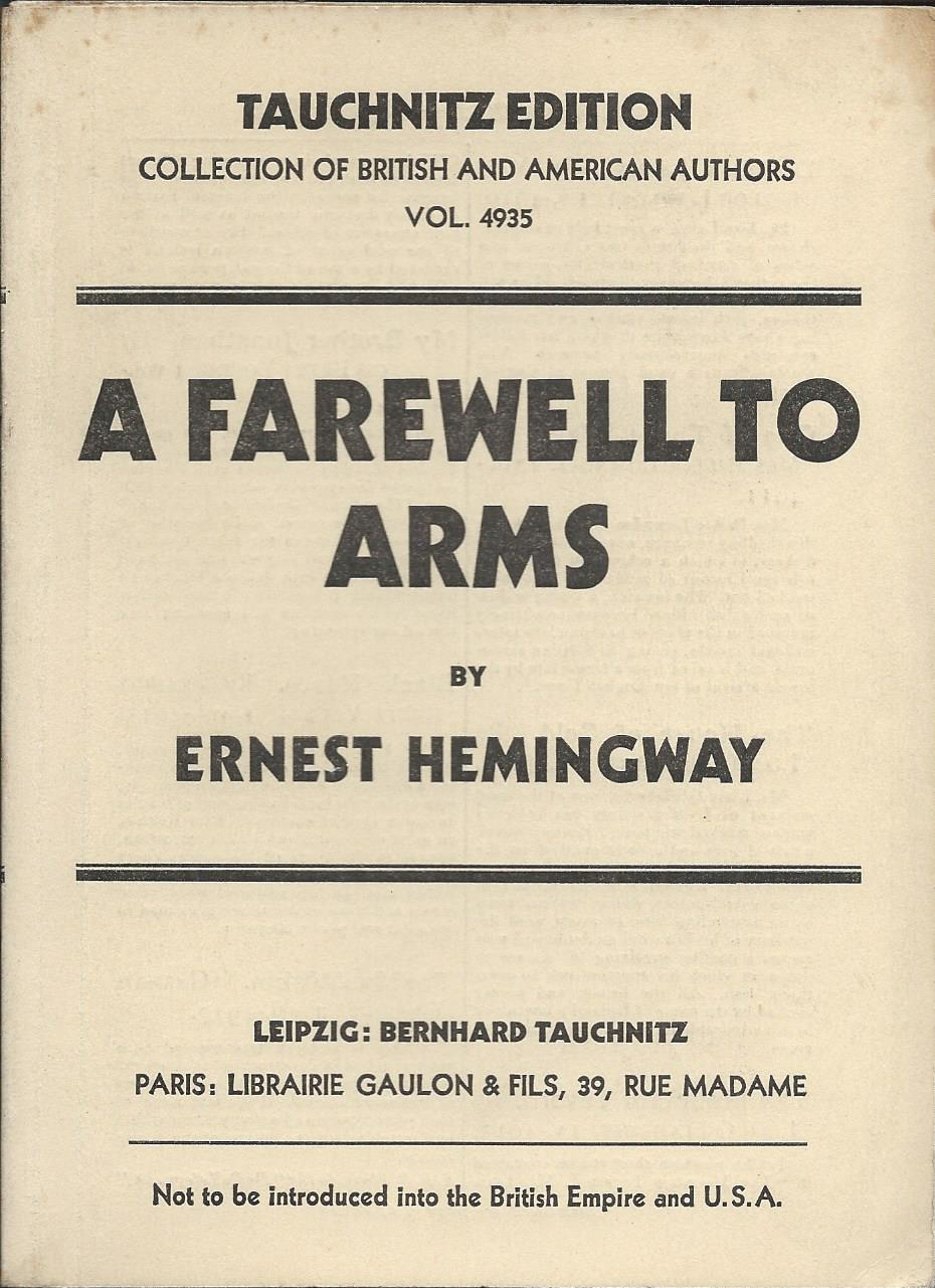 farewell to arms A farewell to arms the bookreader requires javascript to be enabled please  check that your browser supports javascript and that it is enabled in the browser .