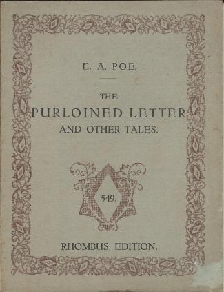 Rhombus 549 The purloined letter